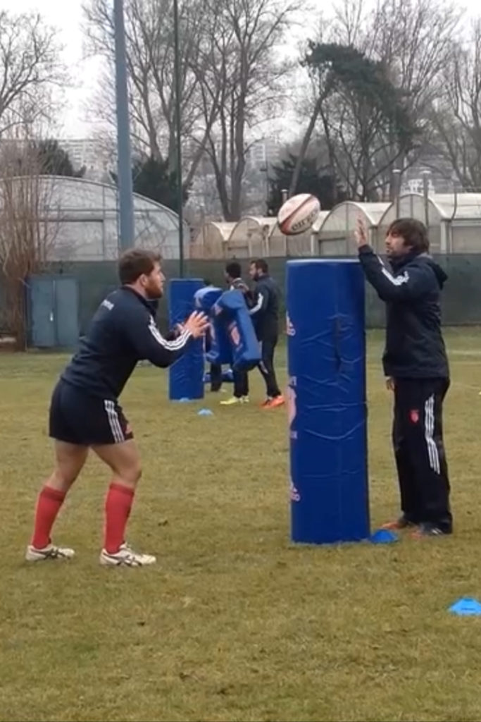 travail technique individuelle rugby vidéos skills ejercicios