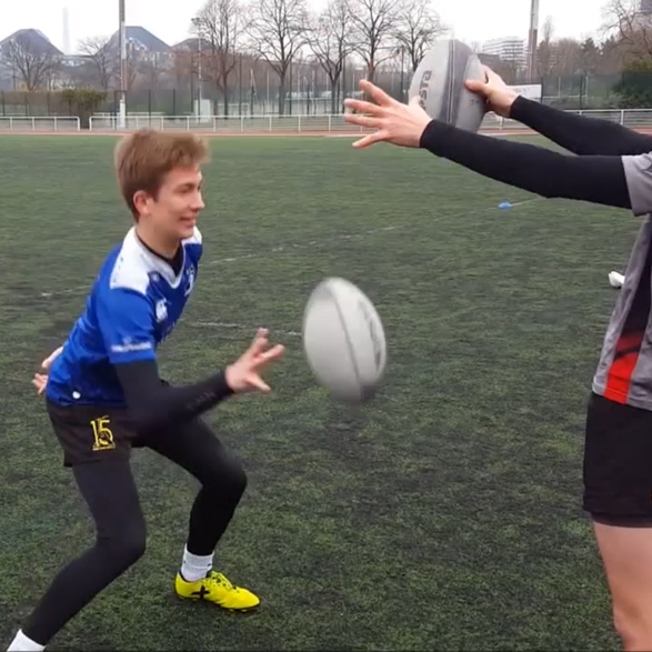 Exercices passes rugby