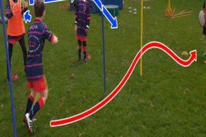 exercices skills passes M6 M8 rugby vidéos entrainement
